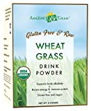 Amazing Grass Organic Wheat Grass Drink Powder, 15-Count Packets