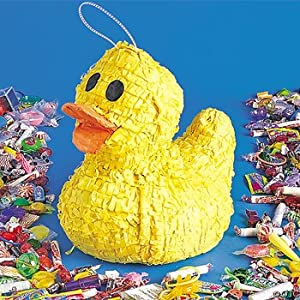 Click to buy Yellow Ducky pinata from Amazon!