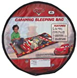 Kid's Camping Sleeping Bag, Made in USA, 2 Lb, Disney Pixar's Cars