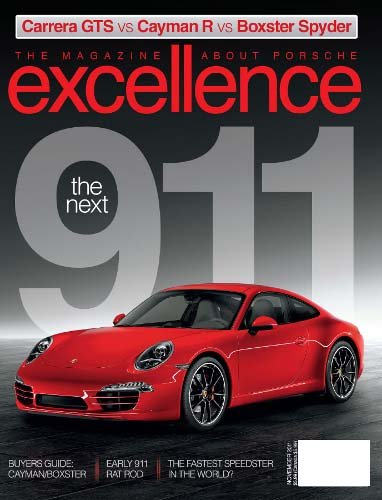 excellence a magazine about porsche cars all magazine store. Black Bedroom Furniture Sets. Home Design Ideas