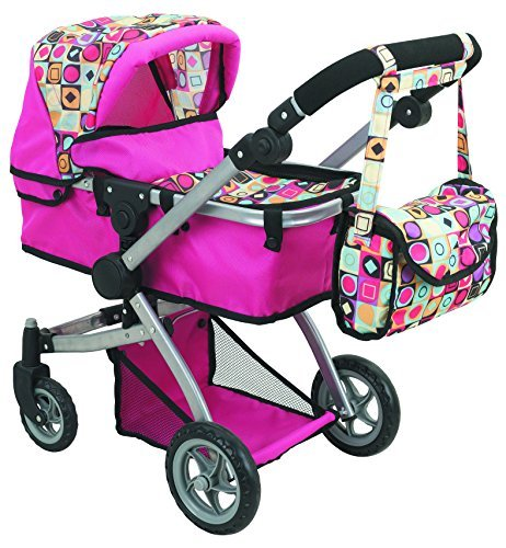 New Deluxe Stroller Swiveling Adjustable Carriage