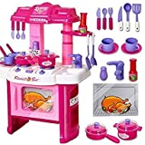 Elektra Playing Big Kitchen Cook Set Toys For Girl