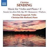 SINDING: Musik für Violine und Klavier Vol.2
