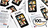 100 iCloth Touchscreen Cleaning Wipes - Easy and Effective - Quick Drying - Streak Free - One Step Cleaning (Re-sealable Bag)