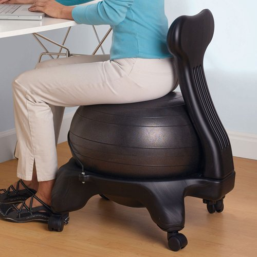 The Gaiam Balance Ball Chair
