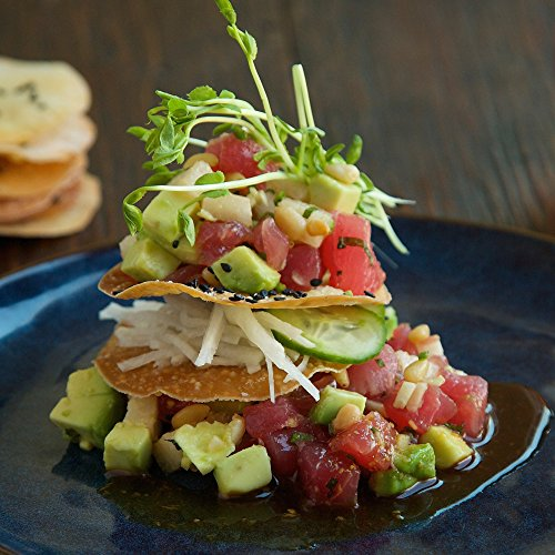Ahi-Poke-and-Asian-Pear-with-Avocado-and-Cucumber-Slaw-by-Chefd