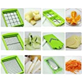 Inditradition Nicer Dicer Plus Multi Chopper Vegetable Cutter Fruit Slicer,Works As Grater, Cutter, Peeler, Slicer...