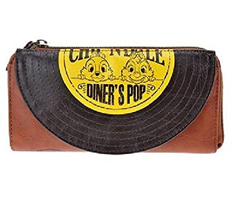 Disney Store long wallet DINER'S POP Chip & Dale
