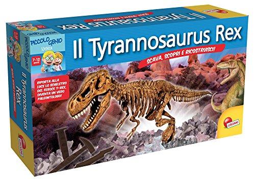 Lisciani Giochi 49011 - Piccolo Genio Scava e Scopri, T-Rex