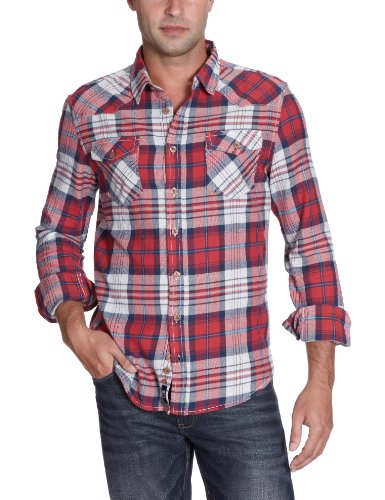 Ltb Jeans Men's 4927 / Darius Casual Shirt Multicoloured (Darius Checks 8697) 48