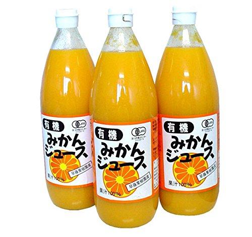 有機みかんジュース 1000ml×6本入 早藤