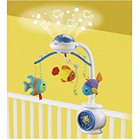 Fisher-Price Ocean Wonders Mobile w/RC