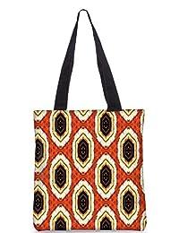 Snoogg Abstract Multicolor Design Digitally Printed Utility Tote Bag Handbag Made Of Poly Canvas - B01C8LRMLS