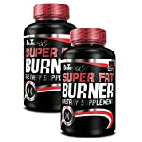 BioTech USA Super Fat Burner 2er Pack, (2 x 120 Kapseln)