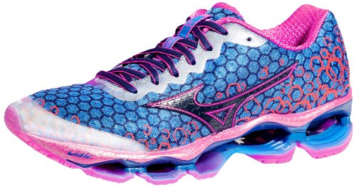 Mizuno Women's Wave Prophecy 3 Running Shoe,Blue/Purple,9.5 B US