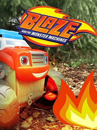 BLAZE AND THE MONSTER MACHINES Fire Rescue Blaze + Super Stunts Blaze- & Blaze Monster Truck Toys