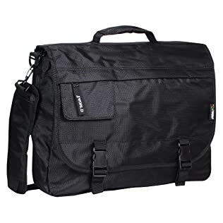 J World Messenger Bag/Briefcase - Black (16