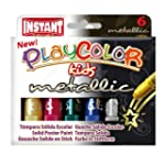 Metallic Solid Poster Paint Sticks (P...