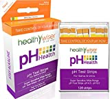 pH Test Strips 120ct - Tests Body pH Levels for Alkaline & Acid levels Using Saliva and Urine. Track and Monitor Your pH Balance & A Healthy Diet, Get Accurate Results in Seconds. pH Scale 4.5-9