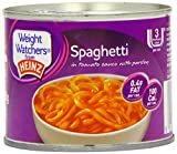Heinz Weight Watchers Spaghetti in Tomato Sauce 200 g (Pack of 24)