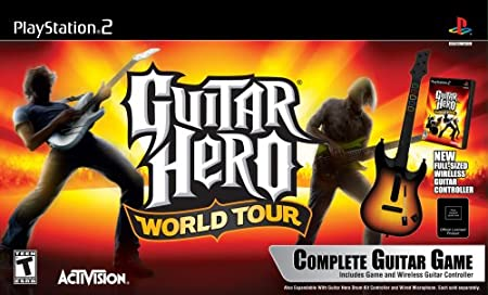 PS2 Guitar Hero World Tour Guitar Kit
