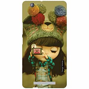 Design Worlds Gionee Marathon M5 Back Cover Designer Case and Covers