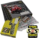 HONDA C90 CUB 84-02 C & S CHAIN AND SPROCKET KIT SE