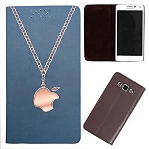 DooDa - For Nokia Lumia N625 PU Leather Designer Fashionable Fancy Flip Case Cover Pouch With Smooth Inner Velvet