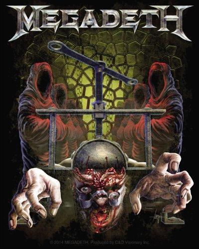 Licenses Products Megadeth Skull Press Sticker - 1