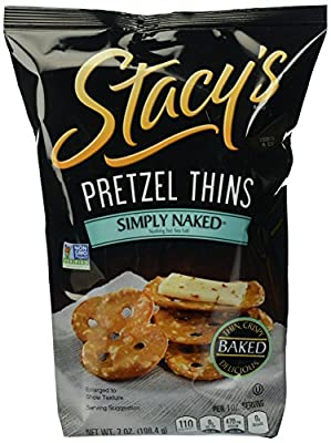 Stacy's Pretzel Thins, Simply Naked, 7 oz by Stacy's