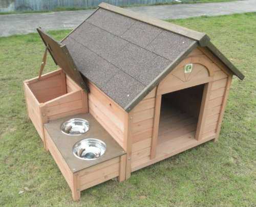 Dh 12 Dog House Outdoor Indoor Wooden Dog House Dog