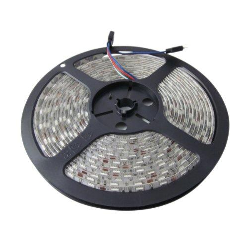 Sunsbell 5M 16.4Ft Smd 5050 300Leds Rgb Flexible Waterproof Led Strip Light Lamp Kit