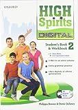 High spirits digital. Student's book-Workbook-Mydigitalbook 2.0. Con espansione online. Per la Scuola media. Con CD-ROM
