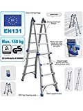 Telescopic Multi Combination Step Ladder System 4x3 Rungs | Stairs