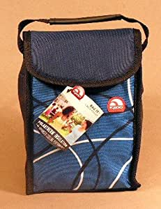 igloo insulated lunch bag blue reusable lunch