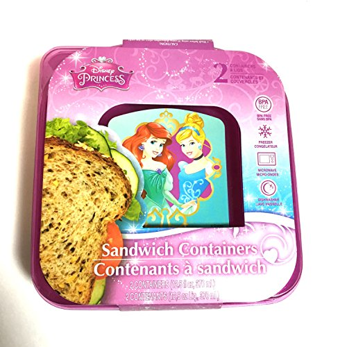 Disney Princess Sandwich Containers (Disney Container compare prices)