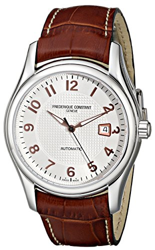 frederique-constant-mens-brown-leather-band-steel-case-automatic-silver-tone-dial-watch-fc-303rv6b6