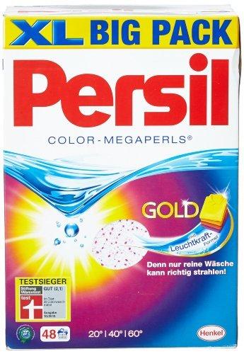 Persil Color-Megaperls Waschmittel 48 Waschladungen, 3240 g