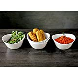 Over and Back- What a Dish 4 Pc. Porcelain Serving Bowls