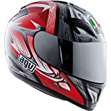 AGV T-2 Shade Helmet – 2X-Large/Black/Red