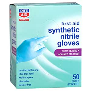 Amazon.com: Rite Aid Synthetic Nitrile Medical Gloves