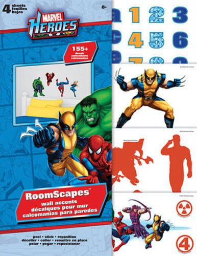 Marvel Superheroes Roomscapes Wall Accent Stickera - 1