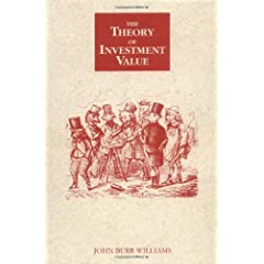 The Theory of Investment Value (9780870341267)