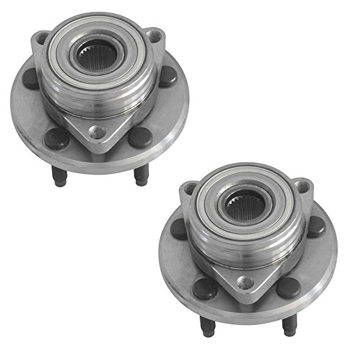 DRIVESTAR 513100x2 (Pair) 2 New Front Wheel Hub & Bearing for Continental Sable Ford Taurus 5-Lug (Ford Taurus Wheels compare prices)
