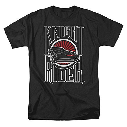 Knight Rider Men's Logo T-shirt Black