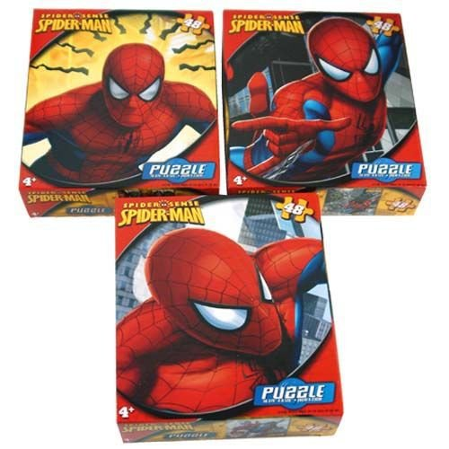 Spiderman Spider Sense 48pc. Puzzle-Flying Through - 1