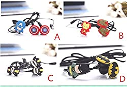 Avengers In-Ear Earphone,Includes 3 Additional Earplug Covers - Great For Kids, Boys, Girls, Adults, Gifts