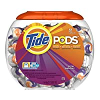 Tide Pods Detergent, Spring Meadow, 51-Ounce, 57-Count