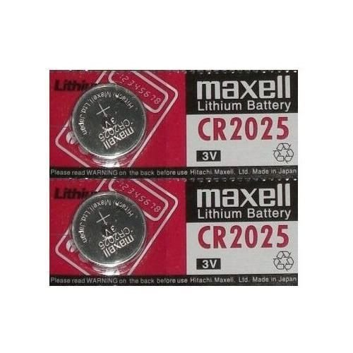 tanco-impex-maxell-2-piles-au-lithium-cr2025-2025-3v-pour-pese-personne-weight-watchers-3-v