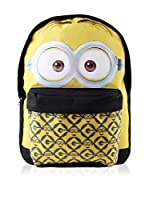 BACK TO SCHOOL Mochila Dave Face (Amarillo / Negro)